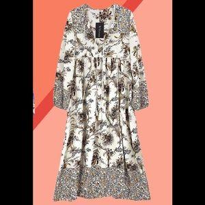 r. vivimos Dresses - Boho Midi Dress